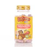 L'Il Critters Calcium+D3 Gummy Bears 150pcs
