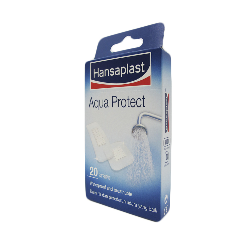 Hansaplast Aqua Protect Waterproof Plaster, 20pcs