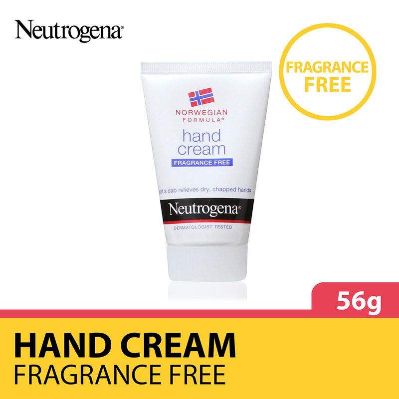 Neutrogena Hand Cream Unscented, 56g