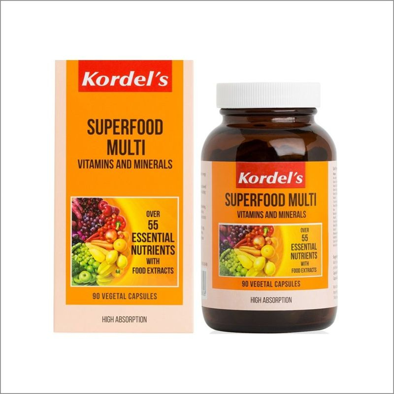Kordel's Superfood Multi Vitamins and Minerals 90s