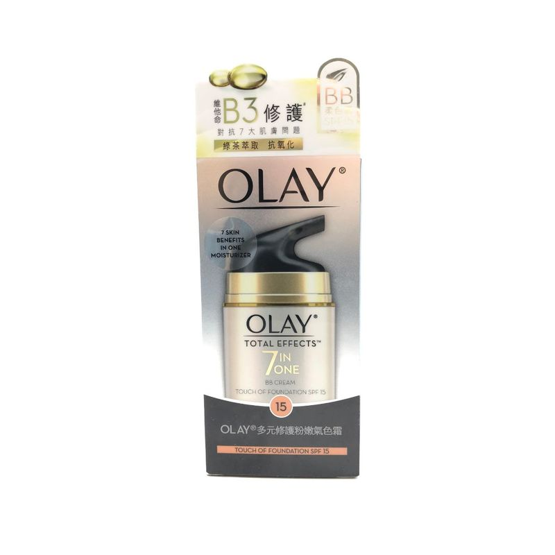 Olay Total Effects Touch of Foundation SPF15 50g