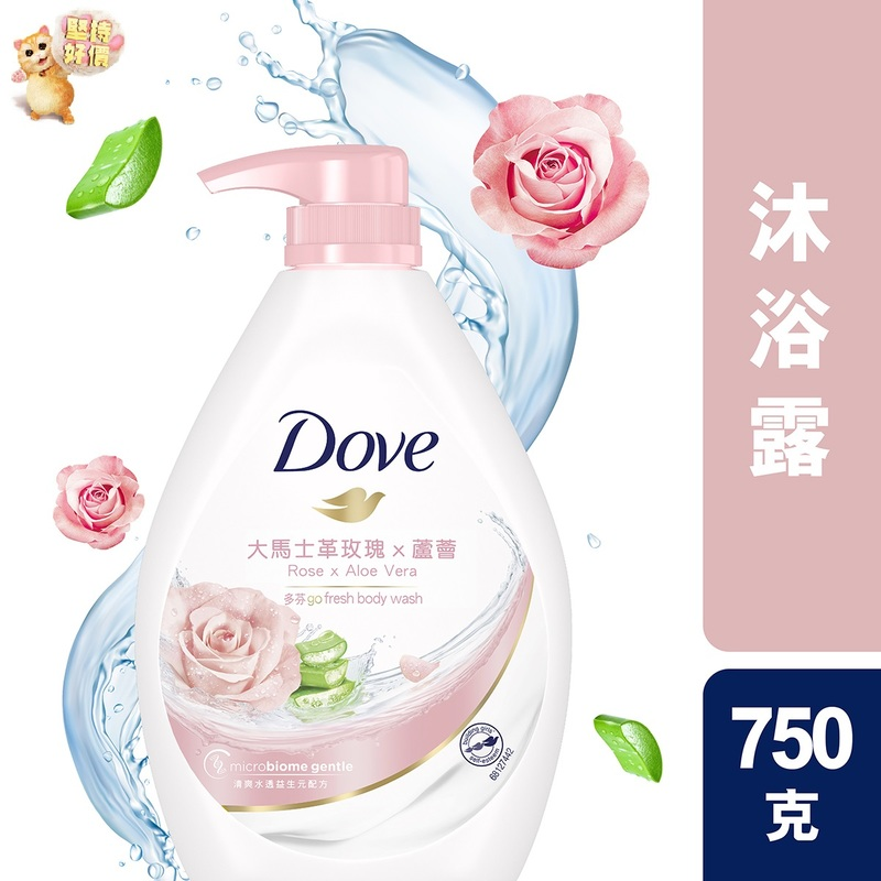 Dove PW Gofresh Rose 750g