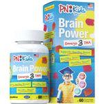 PNKids Brain Power Omega 3 DHA, 60 Gummies