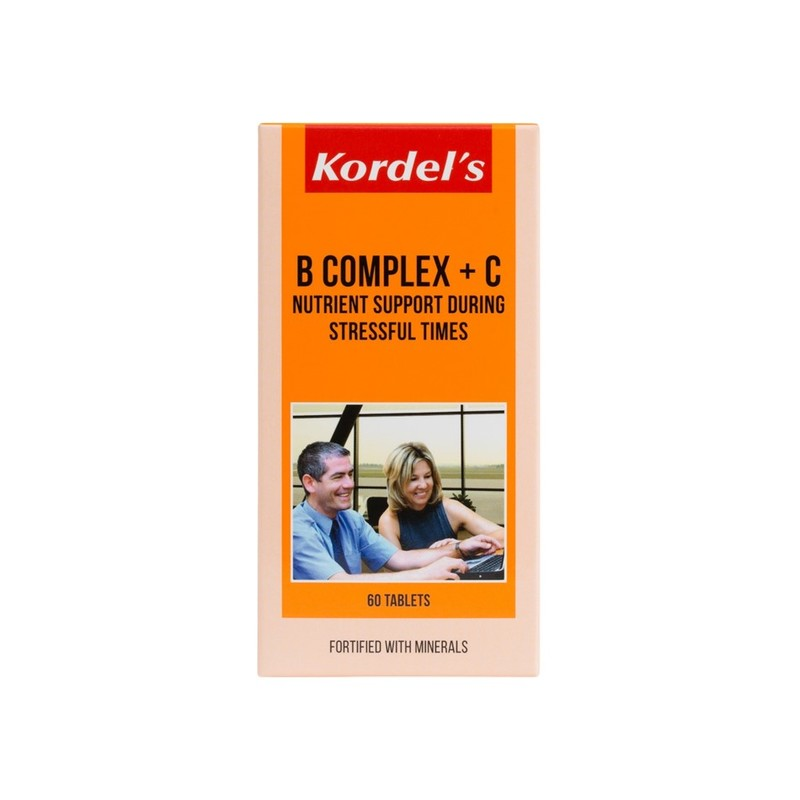 Kordel's B Complex + C, 60 tablets