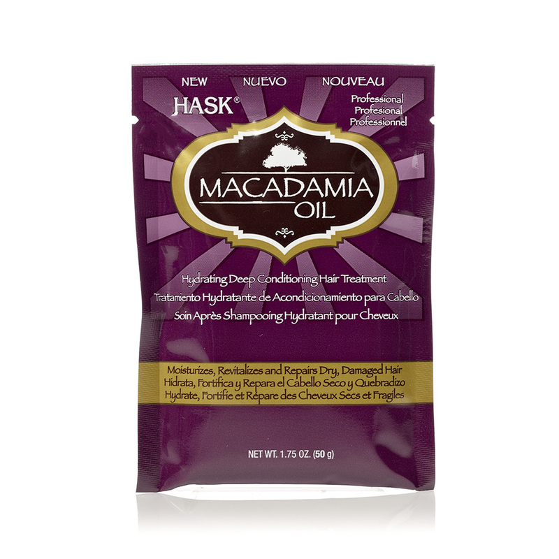 Hask Macadamia Oil Moisturizing Deep Conditioner, 50ml
