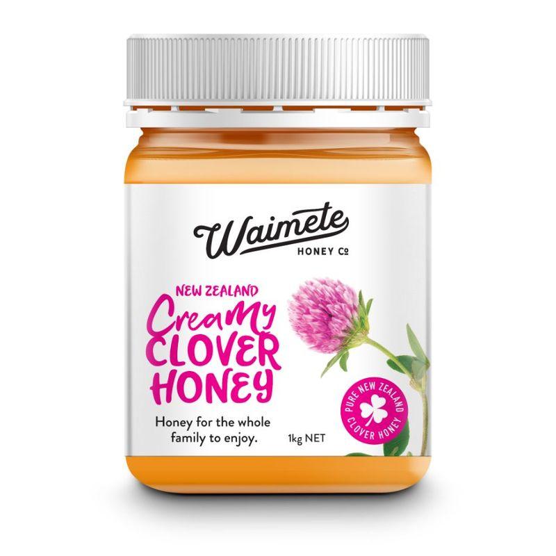 Waimete Creamy Clover Honey, 1kg