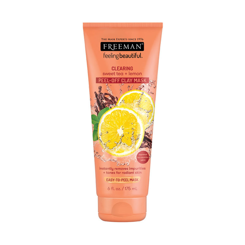Freeman Sweet Tea & Lemon Peel-away Clay Mask