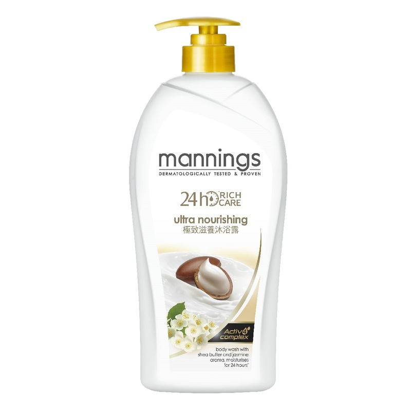 Mannings 24H Ultra Nourishing Body Wash 1000mL x 2