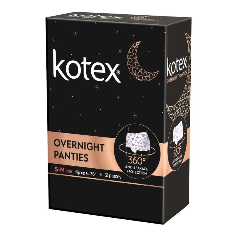 Kotex Overnight Pants S - M, 2pcs