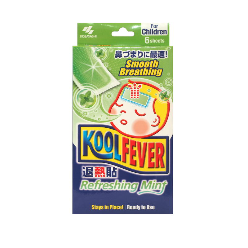 Koolfever Refresh Mint, 6pcs