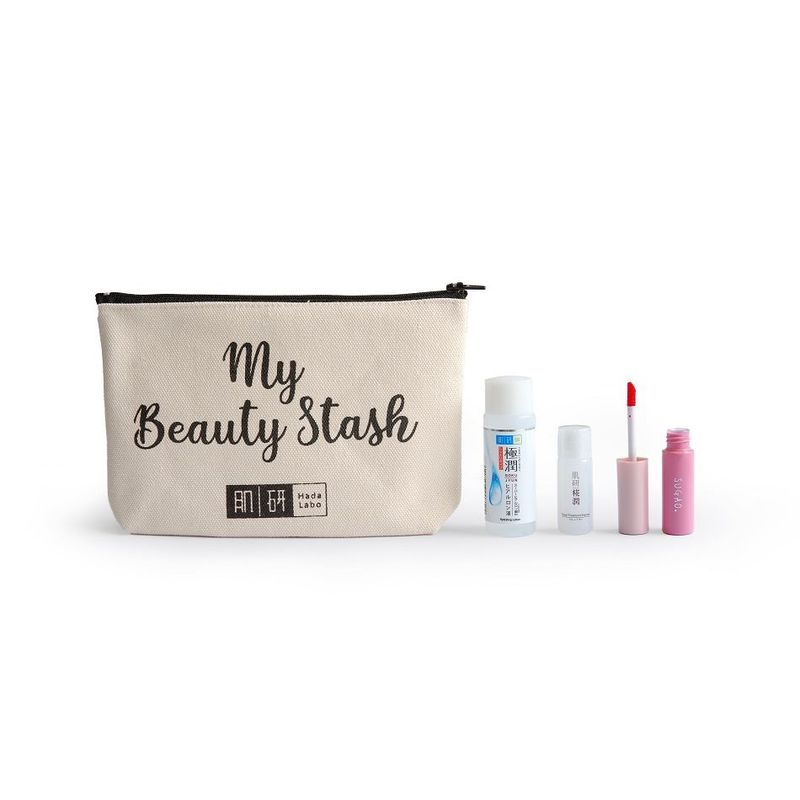 Hada Labo My Beauty Stash Pouch Free Gift