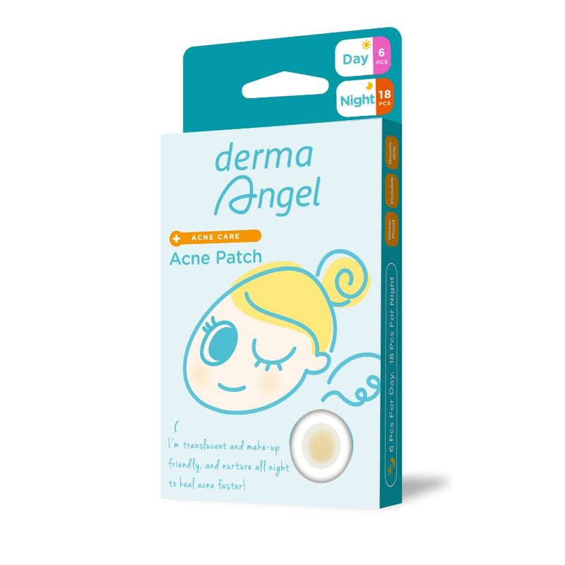 Derma Angel Acne Patch Day and Night, 24pcs