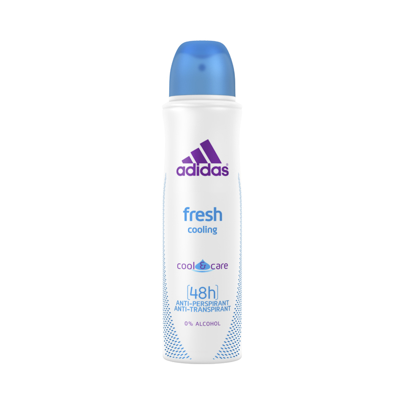 Adidas Women Fresh Cooling Anti-Perspirant Spray, 150ml