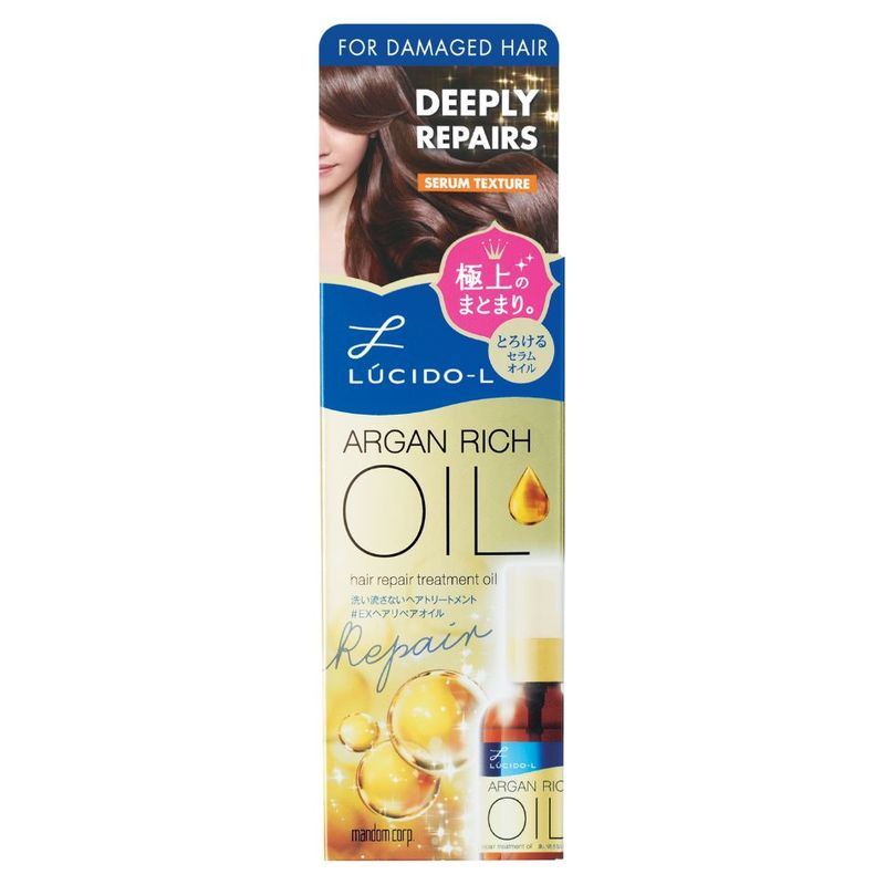 Lucido-L Argan Rich Oil Repair Treatment, 60ml