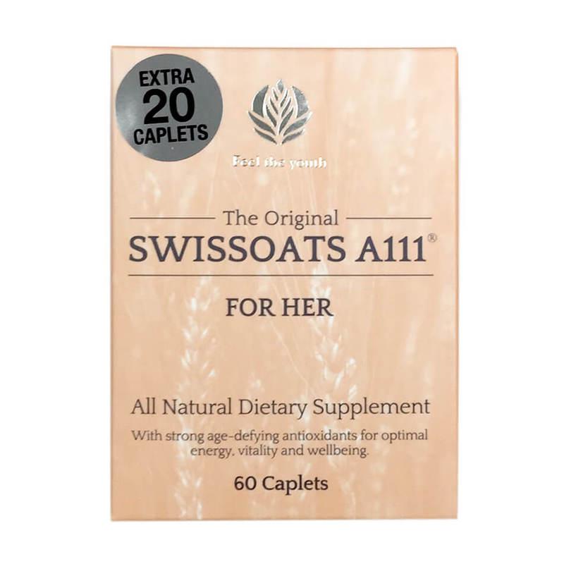 Swissoats For Her, 60+20 caplets