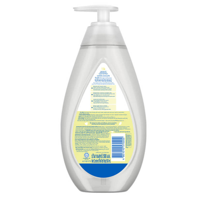 Johnson's Baby Cottontouch Top-to-Toe Bath, 500ml
