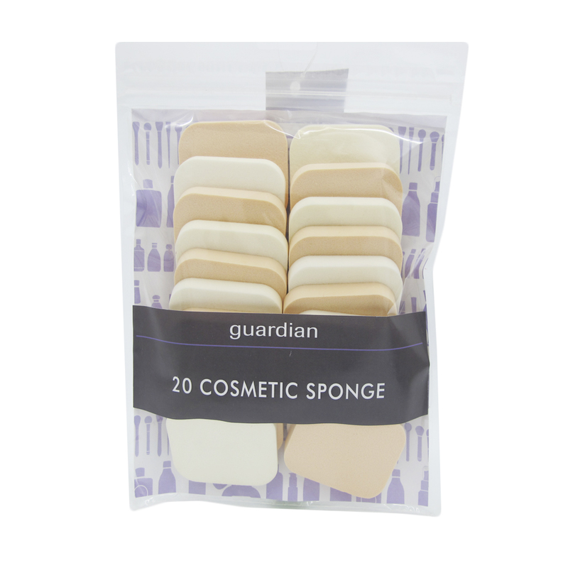 Guardian Cosmetic sponge Rectangular, 20pcs