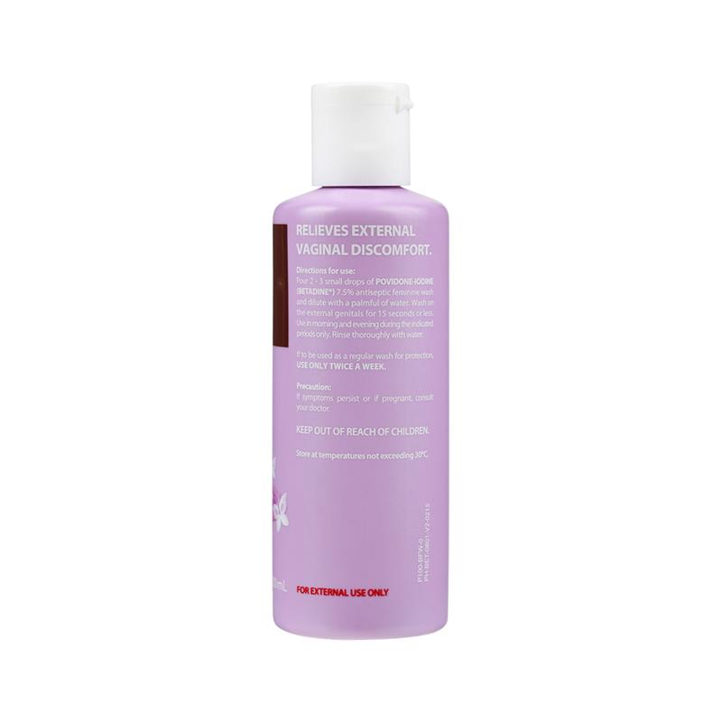 Betadine Antiseptic Feminine Wash 7.5% 100ml