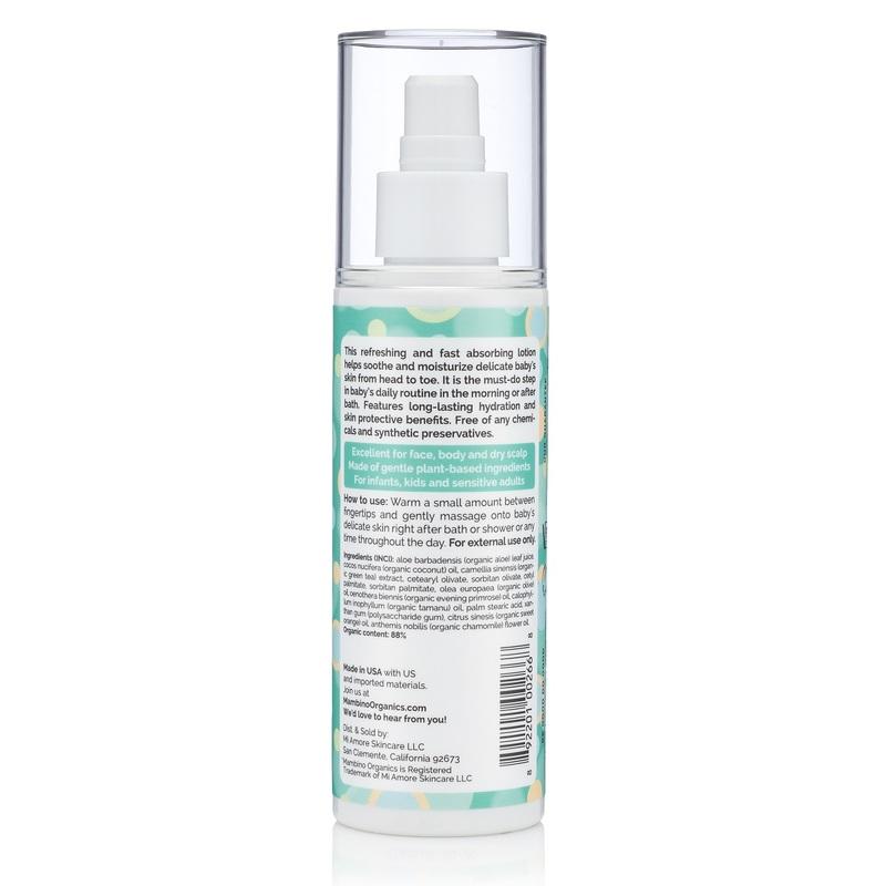 Mambino Organics Daily Essential Face&Body Lotion 150mL