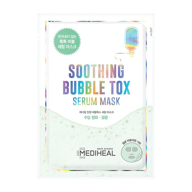 Mediheal Soothing Bubble Tox Serum Mask Pack Sheet 1ml