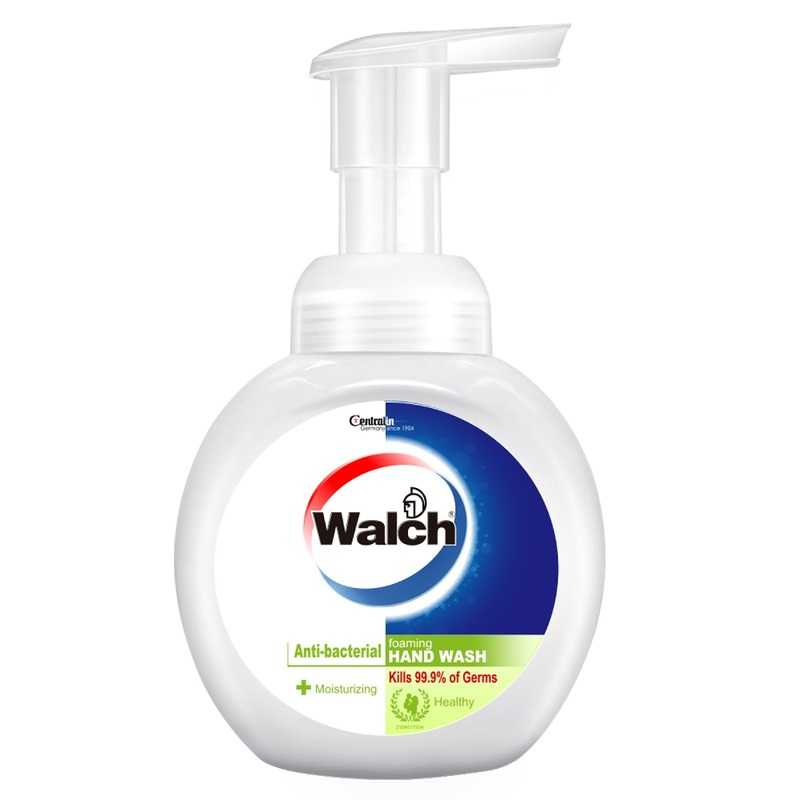 Walch Anti-bacterial Foaming Hand Wash (Moisturizing) 300mL