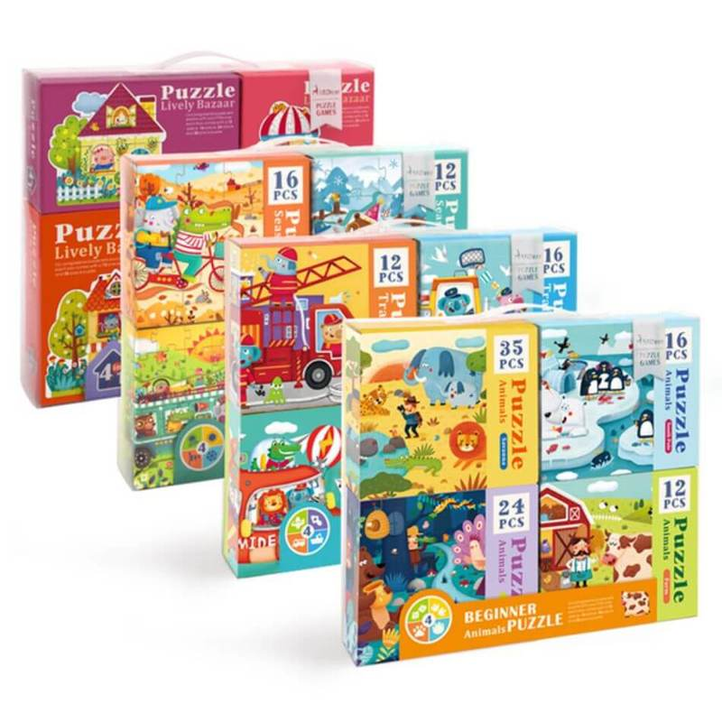 Enfagrow Advanced Puzzle (4-In-1) Worth 29.90 Free Gift