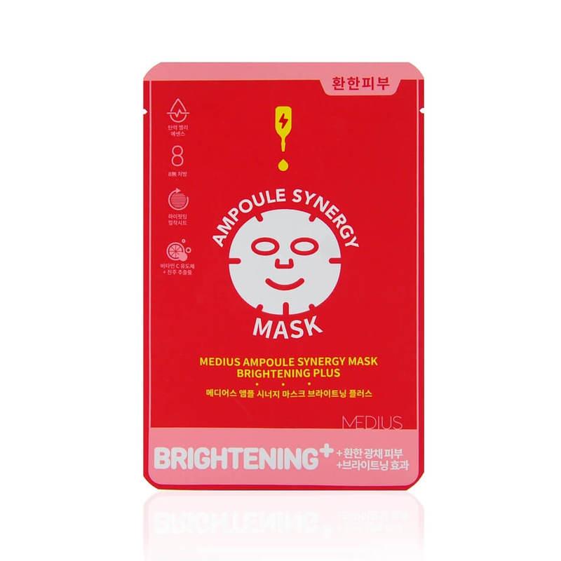 Medius Ampoule Synergy Mask Brightening Plus