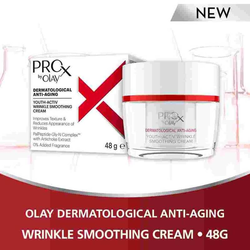 Olay ProX Youth-Activ Wrinkle Smoothing Cream 48g
