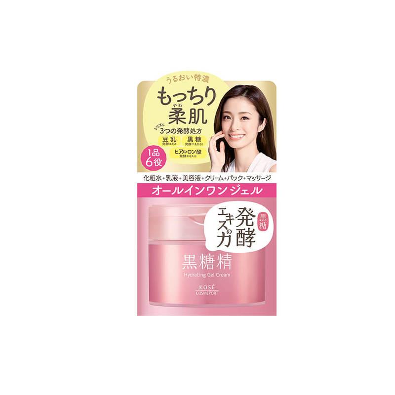 Kose Cosmeport Kokutousei Moist Hydrating Gel Cream, 90g