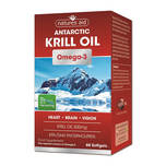 Natures Aid Krill Oil Omega-3 500mg, 60 tablets