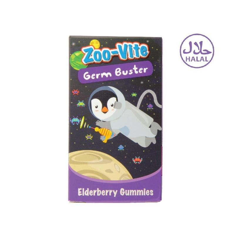 Nature's Essentials Zoo-Vite Germ Buster 60gummies
