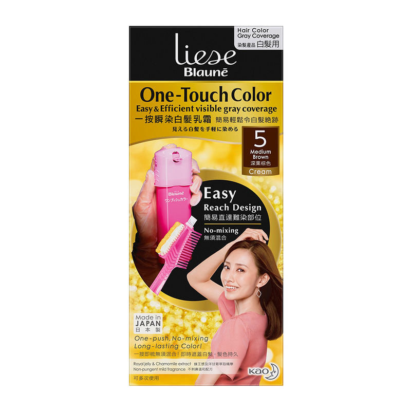 Liese Blaune One Touch Color Medium Brown