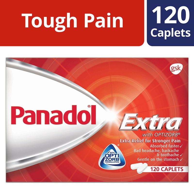 Panadol Extra, 120 caplets