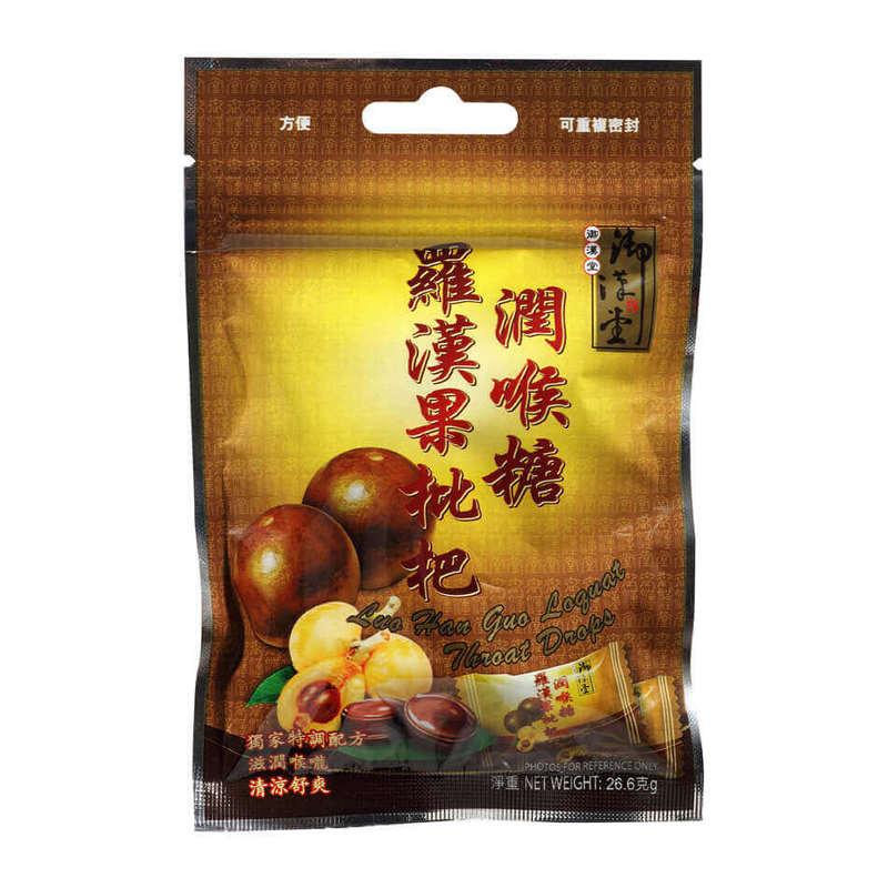 Yue Hon Tong Luo Han Guo Loquat Throat Drops, 26.6g