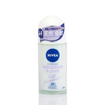 Nivea Sensitive & Pure Deodorant Roll On 50mL