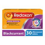 Redoxon Triple Action Efferverscent Blackcurrant, 30 tablets