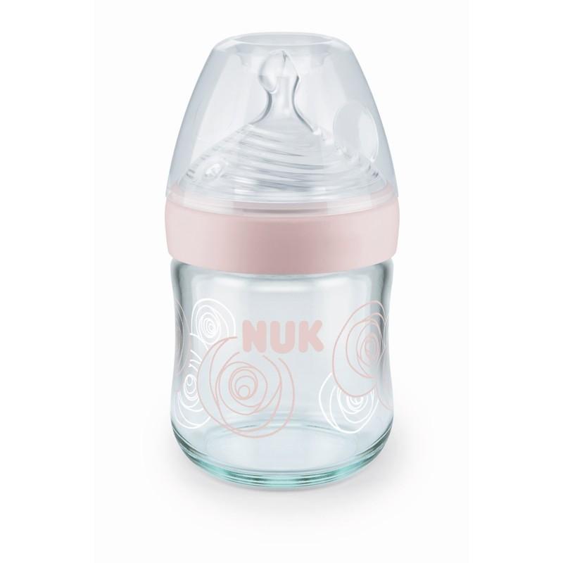 Nuk Nat Sense Glass Bottle 120mL