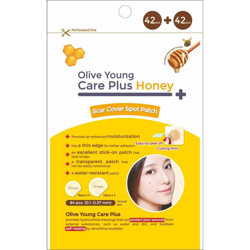 Olive Young Care Plus Honey 84pcs