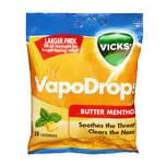 Vicks VapoDrops Lozenges - Butter Menthol