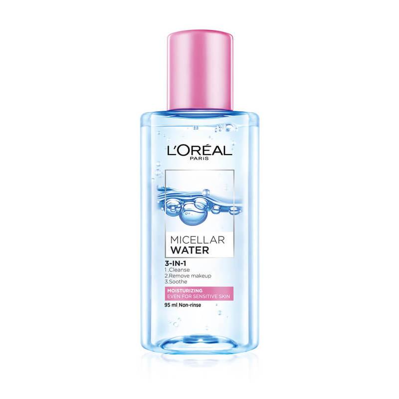 L'Oreal Dermo-Expertise Pink Moisturizing Micellar Water, 95ml