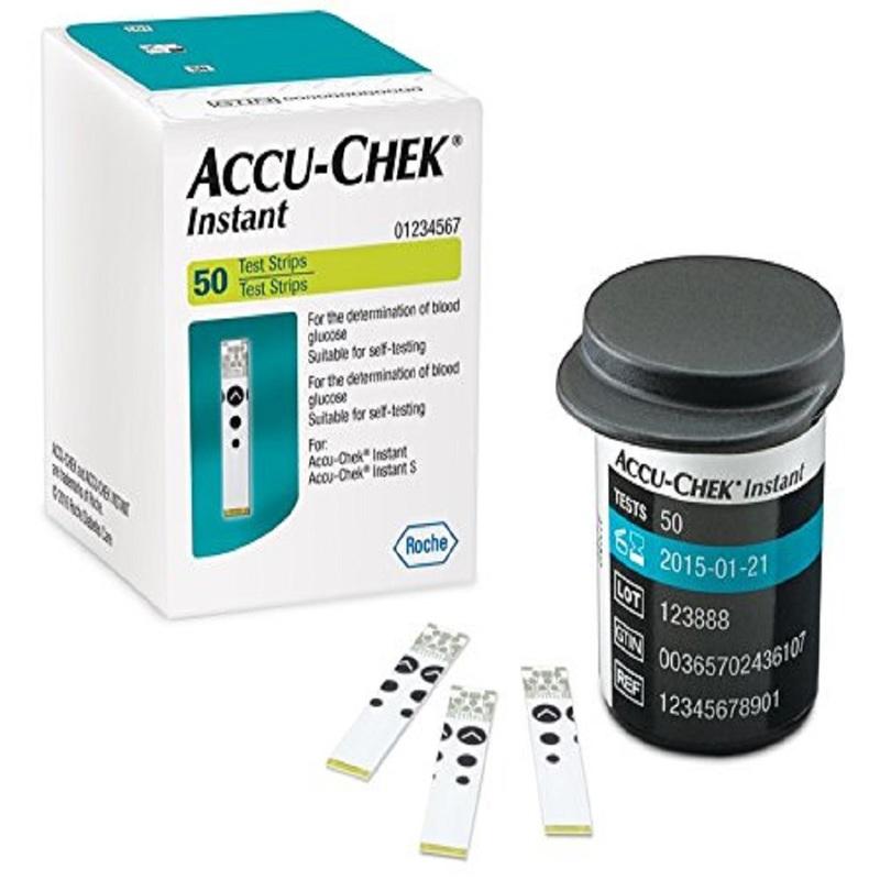 Accu-Chek Instant Meter Test Strips, 50pcs