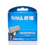 Schick Quattro4 System Refill 8pcs