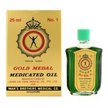 Axe Brand Gold Medal Medicated Oil, 25ml