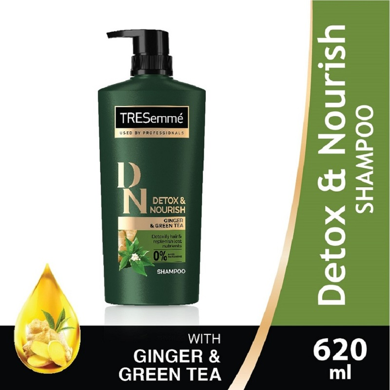 TRESemme Detox & Nourish Shampoo, 620ml