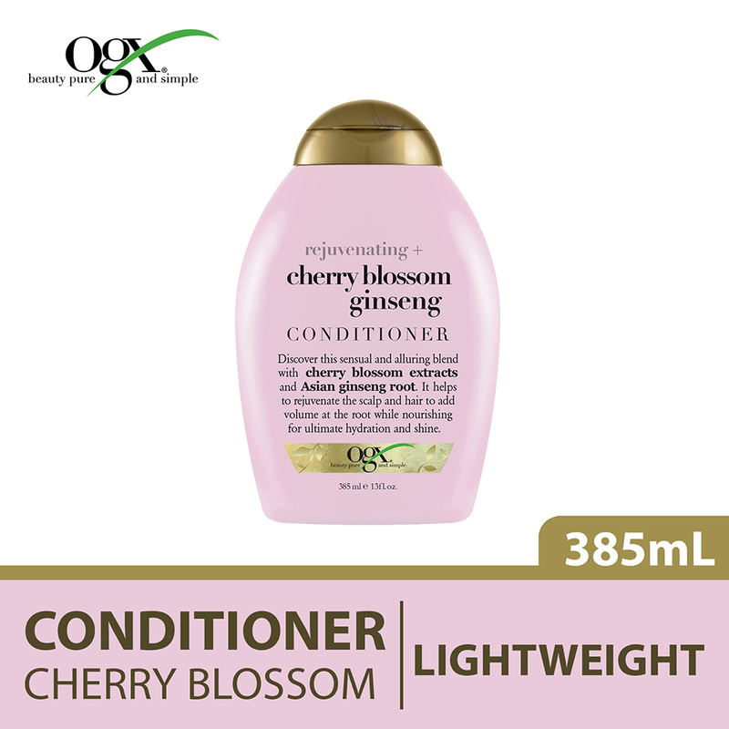 Ogx Cherry Blossom Ginseng Conditioner, 385ml
