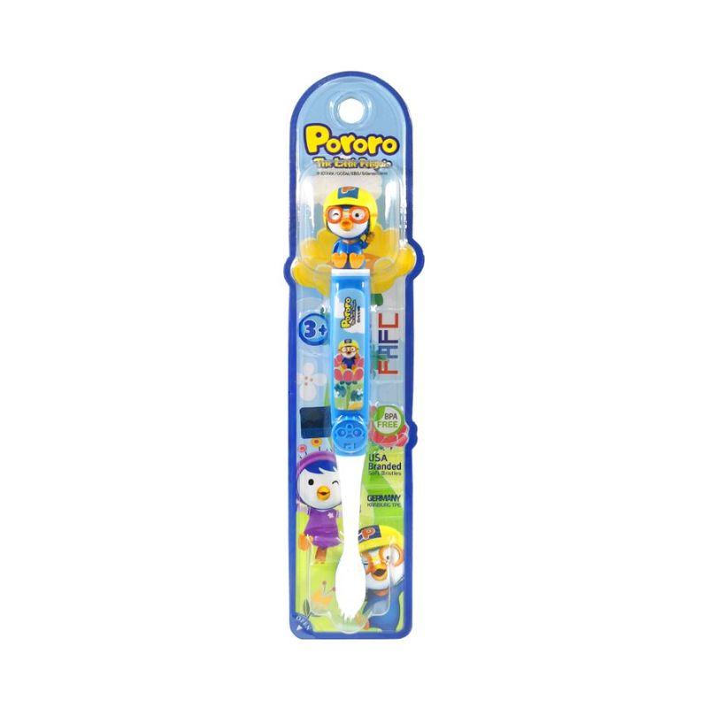 FAFC Pororo Kids Toothbrush - Pororo Figurine