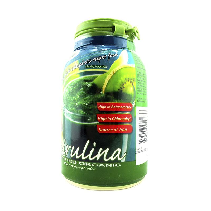 Morlife Phytofood Certified Organic Spirulina Powder, 400g