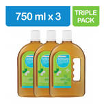Guardian Antiseptic Germicide Triple Pack, 3x750ml