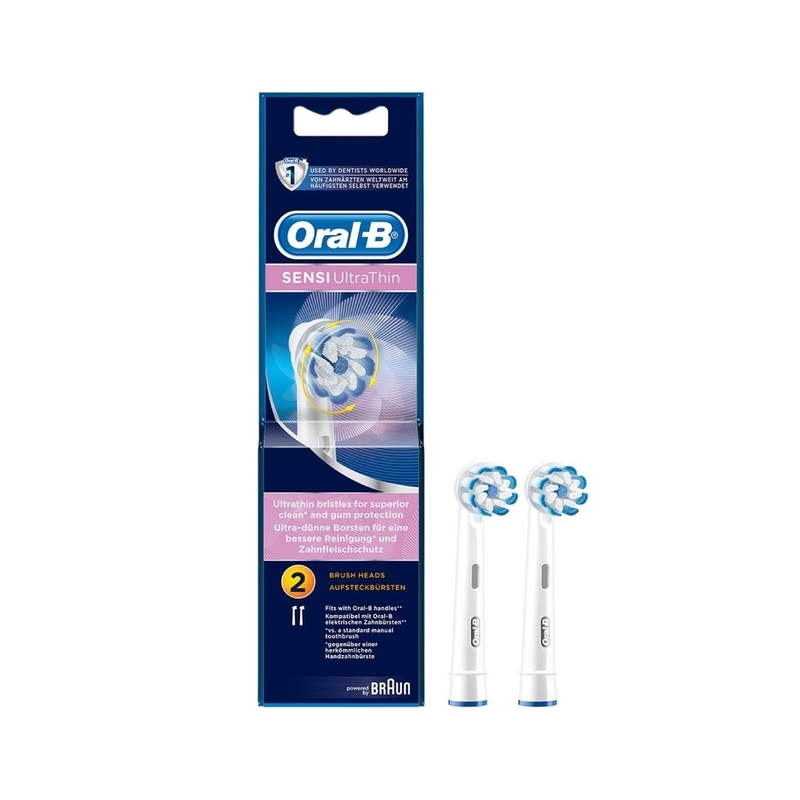 Oral B-Braun Eb60 Sensitive Ultrathin 2pcs
