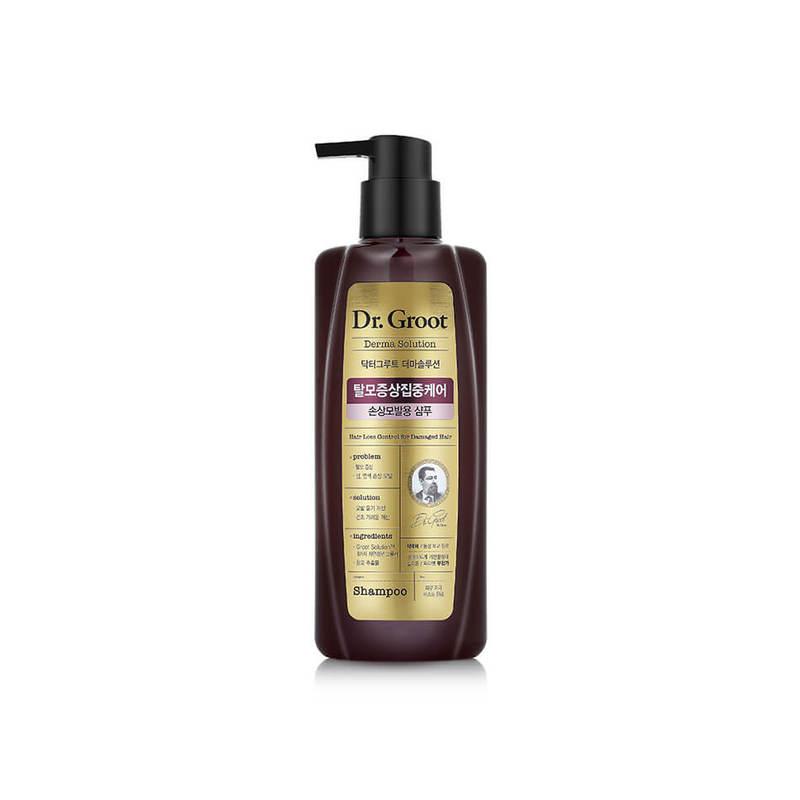 Dr. Groot Hair Loss Control Shampoo for Damaged Hair, 400ml